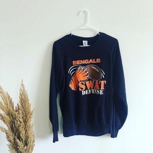 Vintage 90s Bengals NFL Crewneck Sweatshirt